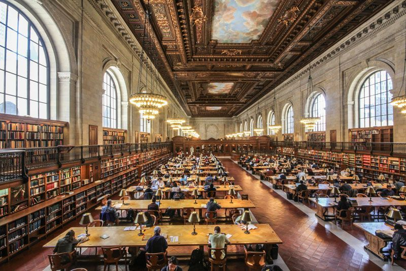new-york-public-library-office